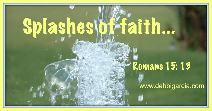 Splashes of faith