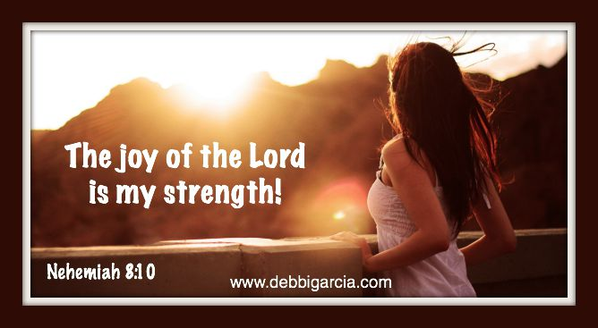 He is my strength…