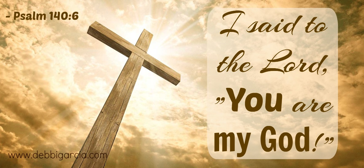 You are MY God.