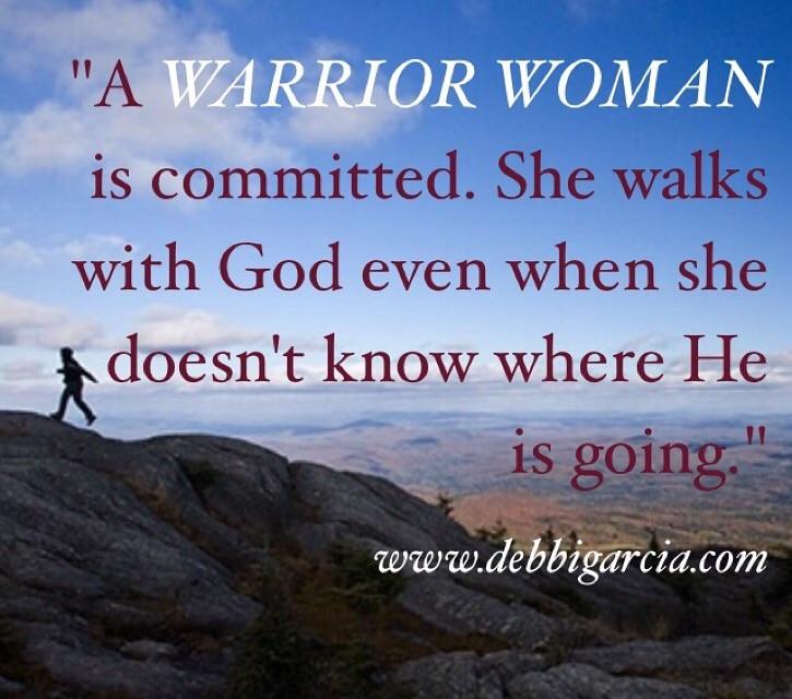 She walks